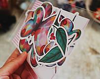 Papiernictvo - Motýlie nálepky - 9515300_