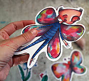 Papiernictvo - Motýlie nálepky - 9515301_