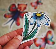 Papiernictvo - Motýlie nálepky - 9515302_
