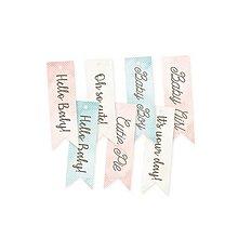 Papier - Papierové výrezy 02 Cute & Co. - vlajky - 9515876_