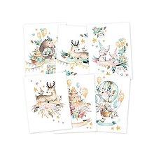 Papier - miniPoster set Cute & Co., 15 x 20cm - 9515952_