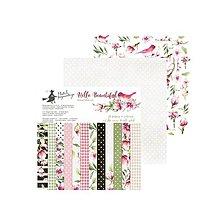 Papier - Sada papierov 15,2x15,2cm Hello Beautiful - 9516522_