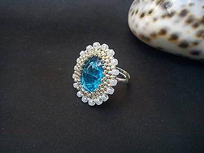 Prstene - Prsteň - Modrá lagúna - 9517028_