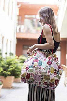 Veľké tašky - Plážová taška - 9516335_