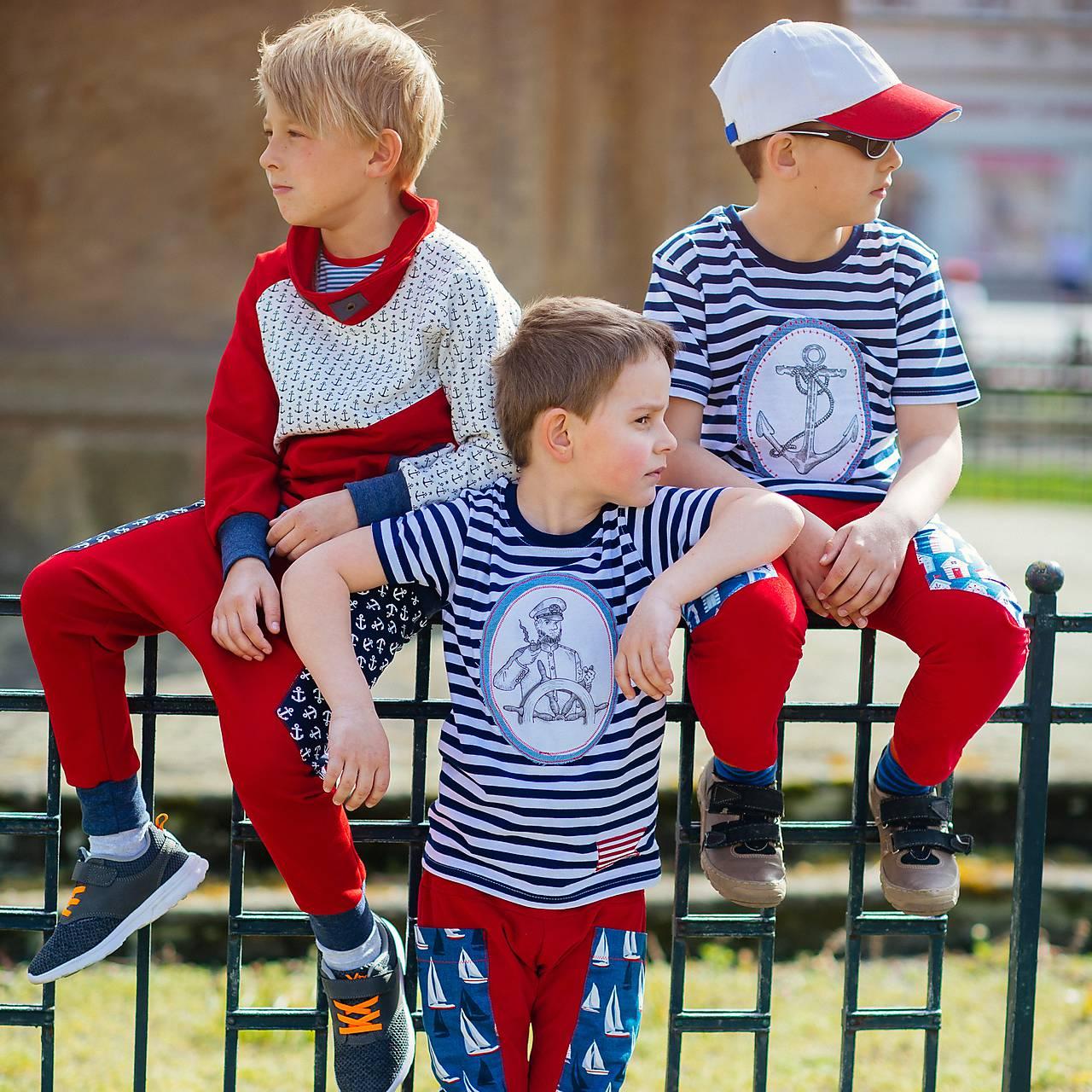 Červené kalhoty pro opravdové námořníky