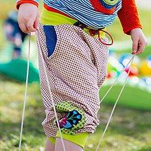 Detské oblečenie - Bodkované turky z jemného úpletu - originál - 9515018_