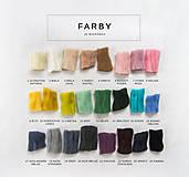 Úžitkový textil - ♥ jarná / letná edícia ♥ Okruhlý Merino vankúš - 9516227_