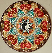 Dekorácie - Mandala...Harmonická láska - 9519169_