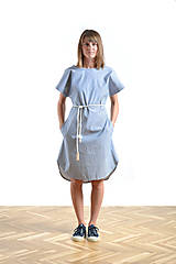 Šaty - Summer dress Blue - 9515600_