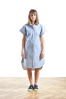 Šaty - Dress shirt Stripp - 9515516_