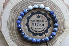 Náramky - Modrá je dobrá 01 - 9515794_