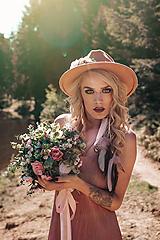 Náušnice - Nežné, romantické pierkové náušnice - 9519231_