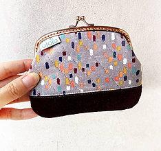 Peňaženky - Peňaženka XL Farebné maskovanie - 9518499_