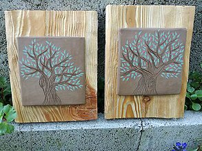 Obrazy - Keď drevo prehovorí.... - 9520042_