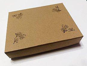 Obalový materiál - Eko krabička 13x9x2,5cm - 9522251_