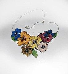 Náhrdelníky - vintage náhrdelník- nenápadník jemný - 9520291_