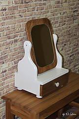 Zrkadlá - Veľké kozmetické zrkadlo - To pravé Orechové - 9519348_