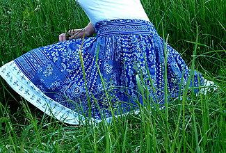 Sukne - Sukienka Patchworková s lemom - 9522395_