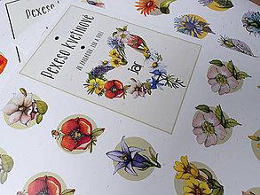 Grafika - Pexeso kvetinové - rovnaké páry. - 9519799_