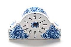Dekorácie - Krbové hodiny - 9521659_