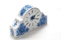 Dekorácie - Krbové hodiny - 9521660_
