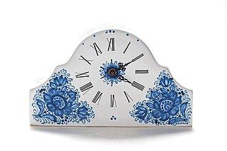 Dekorácie - Krbové hodiny - 9521650_
