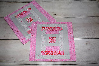 Úžitkový textil - Jemné podšálky* - 9522097_
