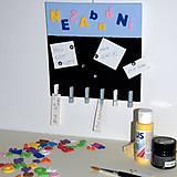 Pomôcky/Nástroje - Kreatívna sada Magnetická tabuľa - 9521066_