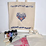 Pomôcky/Nástroje - Kreatívna sada Maľovanie na textil - 9521107_