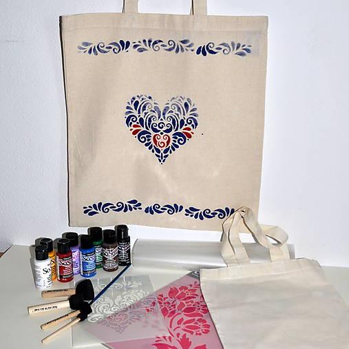 0dbe3392bd Kreatívna sada Maľovanie na textil   Loora1 - SAShE.sk - Handmade ...