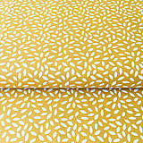 Textil - žltá ryža; 100 % bavlna Francúzsko, šírka 160 cm, cena za 0,5 m - 9519591_