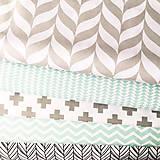 Textil - sivé klasy; 100 % bavlna, šírka 140 cm, cena za 0,5 m - 9521384_