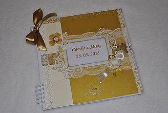 Papiernictvo - Zlato-biela svadba/MAXI album - 9519514_