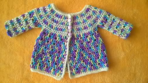 0f78c4845151 Háčkovaný svetrík pre novorodenca   ZM-Handmade - SAShE.sk ...