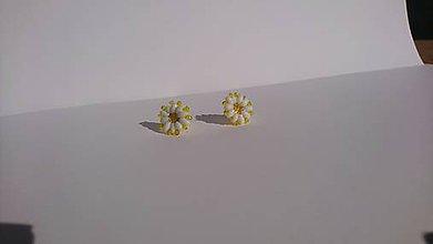 Náušnice - Kvetinkové náušnice Paisley Little - 9521917_