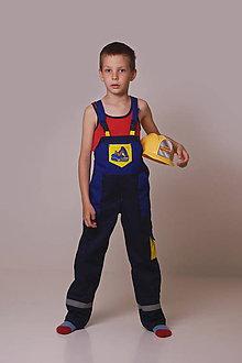 Detské oblečenie - Detské montérky modré - 9522299_