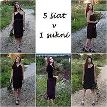 Šaty - Multifunkčné šaty a sukňa v jednom - 9523279_
