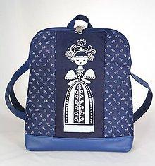 Batohy - Paulína kráľovská modrá 1 - 9519326_