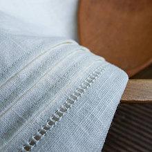Úžitkový textil - ľanový obrus s výšivkou - 9520868_