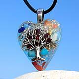 Náhrdelníky - Granátový strom Života D3 * Modrý - 9524666_