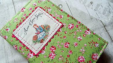 Papiernictvo - Anna zo Zeleného domu ... obal na knihu - 9524816_