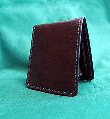 Peňaženky - Kožená peněženka SKLADEM - 9525330_