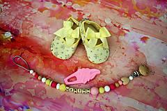 darčekový set pre dievčatko (Žltá)
