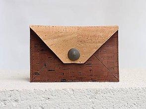 Peňaženky - Korková peňaženka XS - 9525213_
