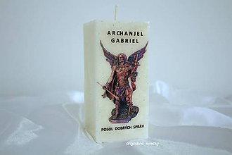 Svietidlá a sviečky - ARCHANJEL  GABRIEL - 9525660_