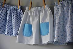 - Celesta sukňa blue  - 9523941_