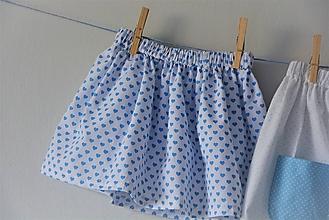 Detské oblečenie - Celesta sukňa hearts - 9524771_