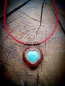 Náhrdelníky - milovaná s Amazonitom - 9525010_