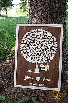Dekorácie - Svadobný strom 120 ľudí - 9526926_