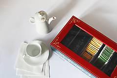 Krabičky - Ručne maľovaná krabica na čaj Anna Hindeloopen - 9524702_